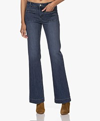 MKT Studio The Diana Wilson Flared Jeans - Blue Texas Wash