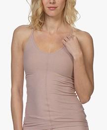 Filippa K Soft Sport Silky Jersey Strap Top - Oudroze
