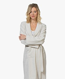HANRO Robe Selection Fleece Pluche Badjas - Moonlight