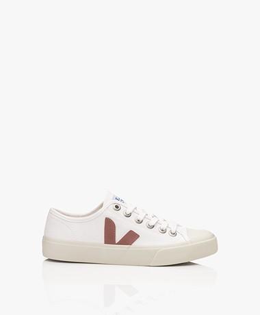 VEJA Wata Canvas Sneakers - Wit/Dried Petale