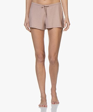 Filippa K Soft Sport Silky Jersey Short - Oudroze