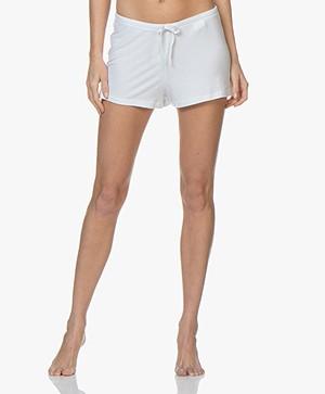 Filippa K Soft Sport Silky Jersey Shorts - White