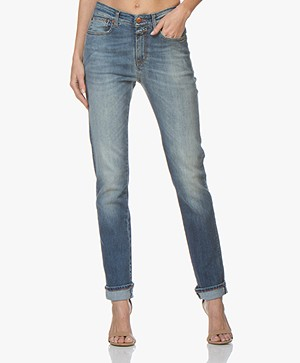 Closed Britney Super Stretch Selvedge Jeans - Blue