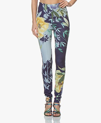 Kyra & Ko Jente Scuba Slim-fit Broek - Ink