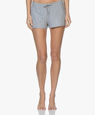 Filippa K Soft Sport Silky Jersey Shorts - Light Grey