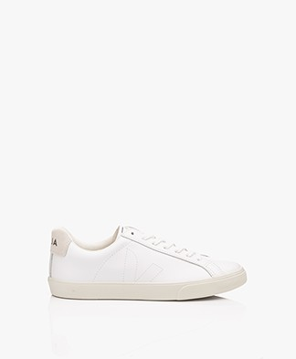VEJA Esplar Low Logo Leather Sneakers - Extra White