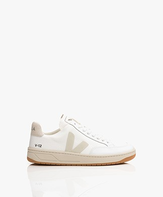 VEJA V-12 B-Mesh Sneakers - White/Natural