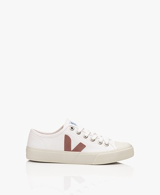 VEJA Wata Canvas Sneakers - Wit/Dried Petale