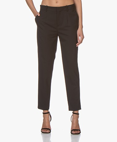 Drykorn Business Wolmix Pantalon - Zwart