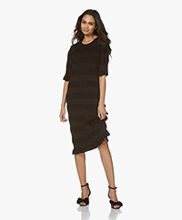 By Malene Birger Helosis Knitted Dress - Black