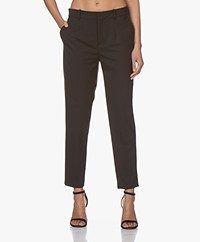 Drykorn Business Wool Blend Pants - Black