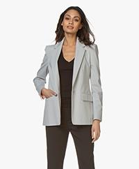 Drykorn Atlin Ponte Jersey Blazer - Light Grey