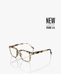 IZIPIZI  READING #L Reading Glasses - Light Tortoise