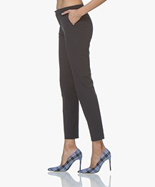 Filippa K Sophia Cotton Stretch Pants - Navy
