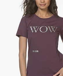 Closed Wow Or Never Print T-shirt - Vino