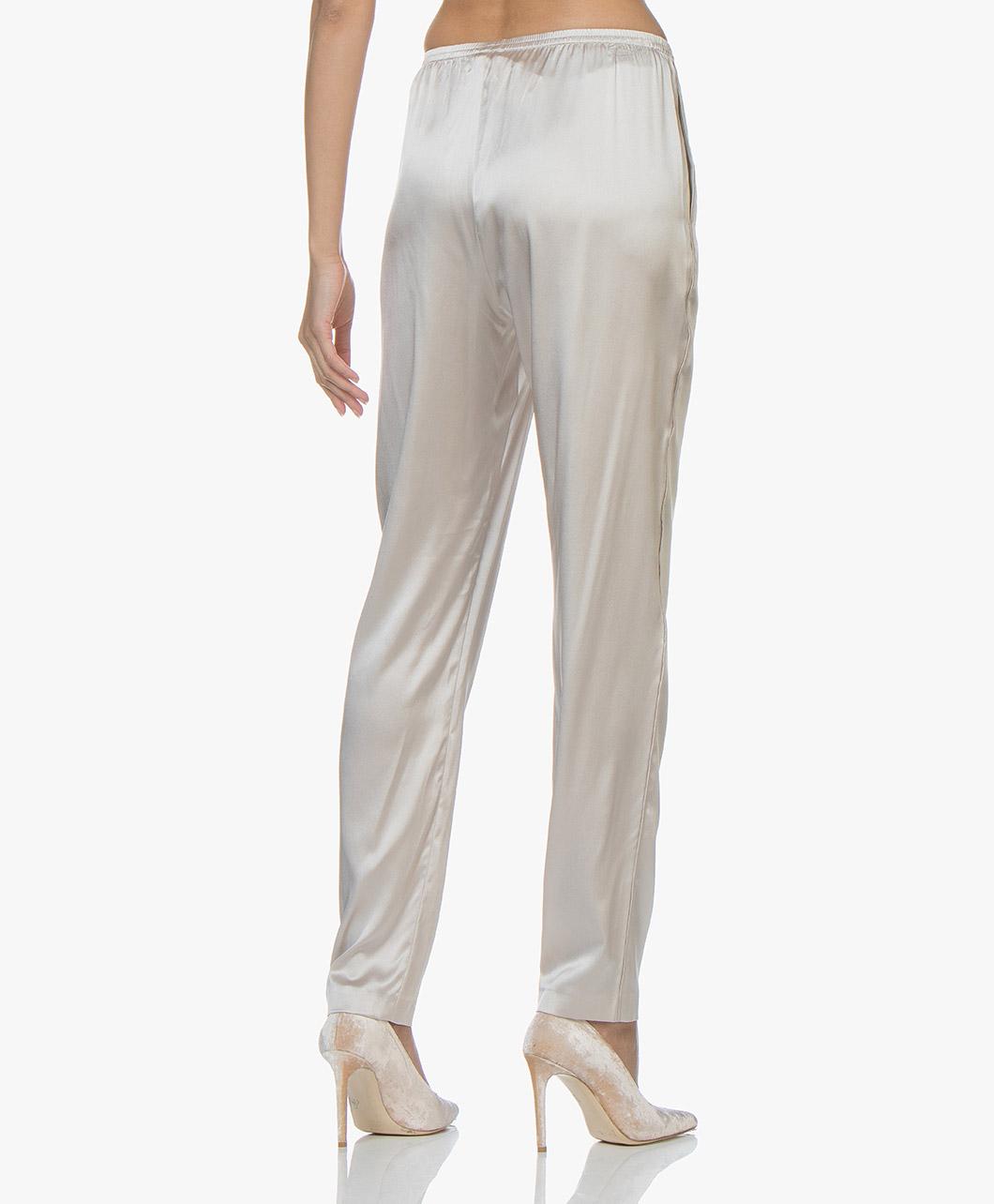 e2e579bbb0c6ca Filippa K Silk Satin Pyjama Pants - Mousse - 25701 8153 - mousse
