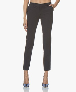 Filippa K Sophia Cotton Stretch Pantalon - Navy