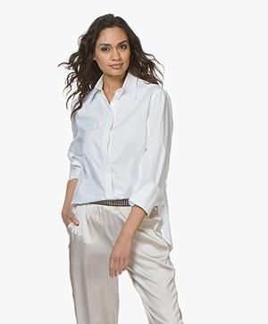 Joseph Mason Poplin Shirt - White