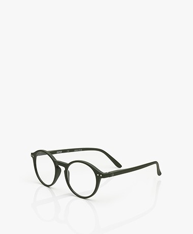 IZIPIZI READING #D Reading Glasses - Kaki Green