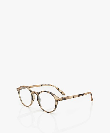 IZIPIZI READING #D Reading Glasses - Light Tortoise