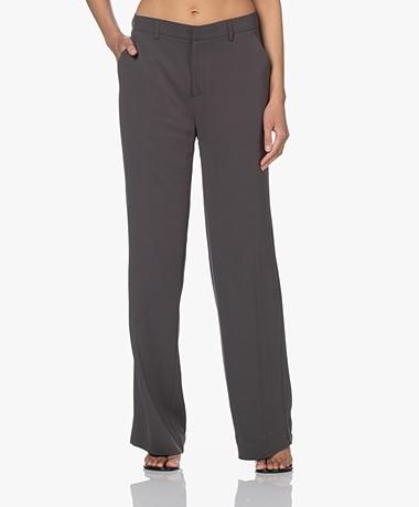 Kyra & Ko Nila Stretch Crêpe Pantalon - Iron