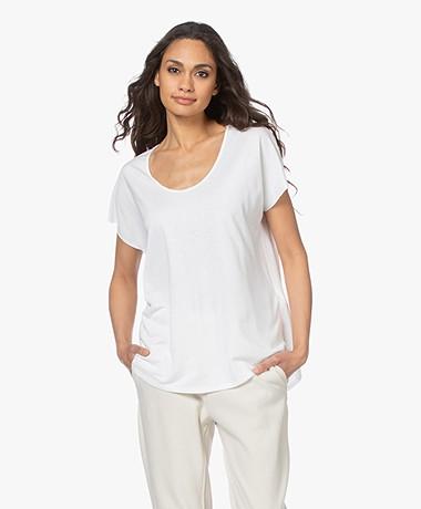 Zadig & Voltaire Vi New Fishnet T-shirt - White