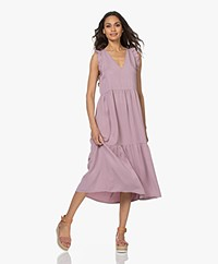 indi & cold Sleeveless Lyocell Midi Dress - Lilac
