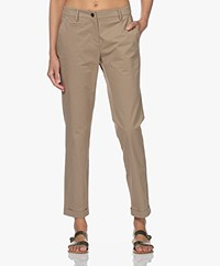 Repeat Stretch Cotton Pants - Pepper