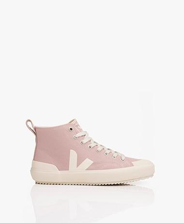 VEJA Nova Biologisch Katoenen High-top Sneakers - Babe/Pierre