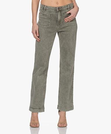 MKT Studio Paquita Straight Jeans - Kaki