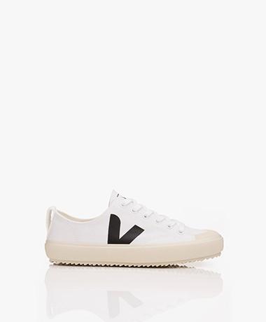 VEJA Nova Biologisch Katoenen Sneakers - Wit/Zwart