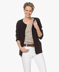 Sibin/Linnebjerg Lulu Kort Vest - Zwart