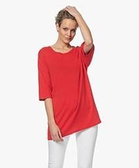 American Vintage Gabyshoo Oversized T-shirt - Flamenco