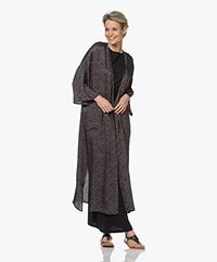 American Vintage Gintown Viscose Print Kimono - Josephine