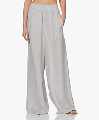 Drykorn Windy Loose-fit Linen Pants - Greige
