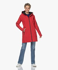 Ilse Jacobsen RAIN37 Softshell Regenjas - Deep Red