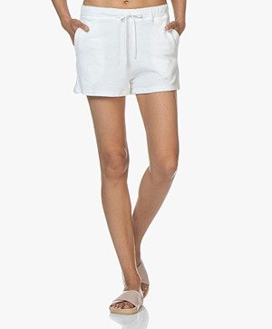 Majestic Filatures Frotté Shorts - White