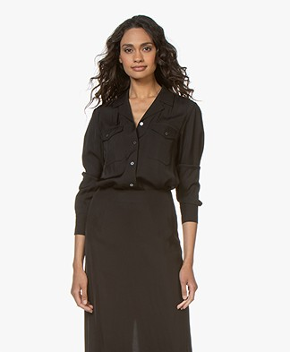 Filippa K Cruise Blouse - Zwart