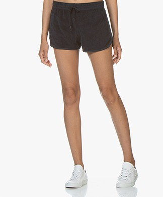 Filippa K Soft Sport Terry Jersey Short - Navy