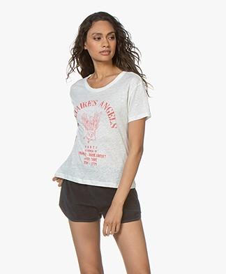15473efd94 Zadig   Voltaire Marta Angels Print T-shirt - Judo