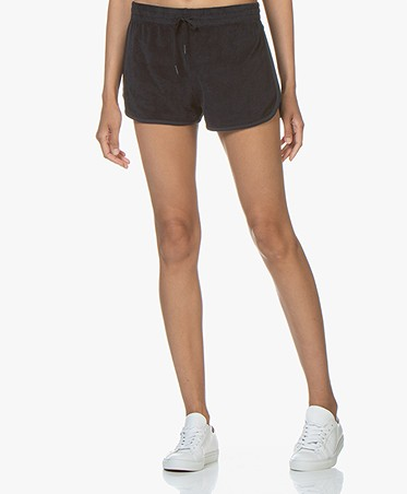 Filippa K Soft Sport Terry Jersey Shorts - Navy
