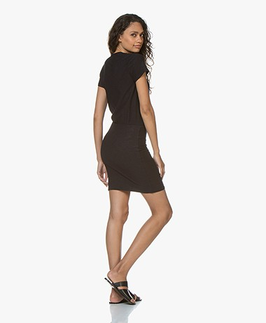 91aadb79636944 James Perse Jersey T-shirt Dress - French Navy - James Perse