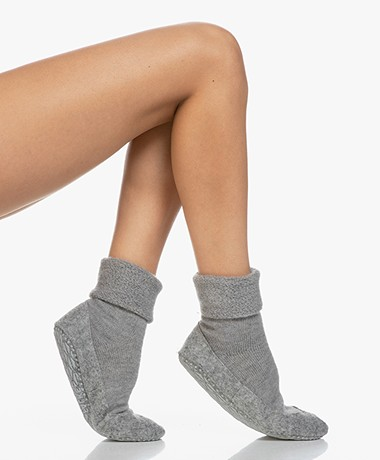 Falke Cosy Shoe Socks - Light Grey