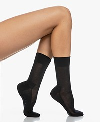FALKE Sensitive Malaga Socks - Dark Navy