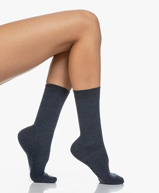FALKE Softmerino Socks - Marine Melange