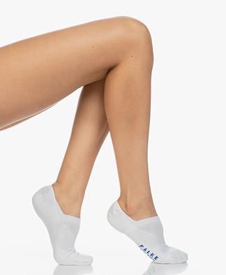 Falke Cool Kick No Show Socks - White