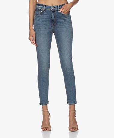 Rag & Bone Nina High-Rise Ankle Skinny Jeans - Copper Hill