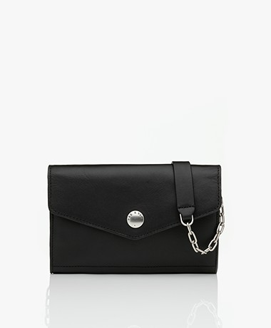 Rag & Bone Atlas Wallet On A Chain Tas - Zwart