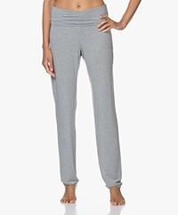 HANRO Modal Yoga Pants - Grit Melange