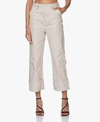 Filippa K Janet Canvas Pants - Ivory